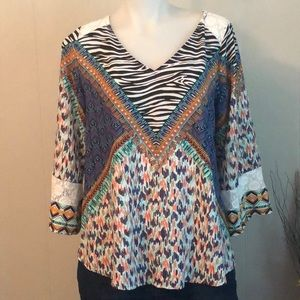 Olive Hill Small Peasant Top